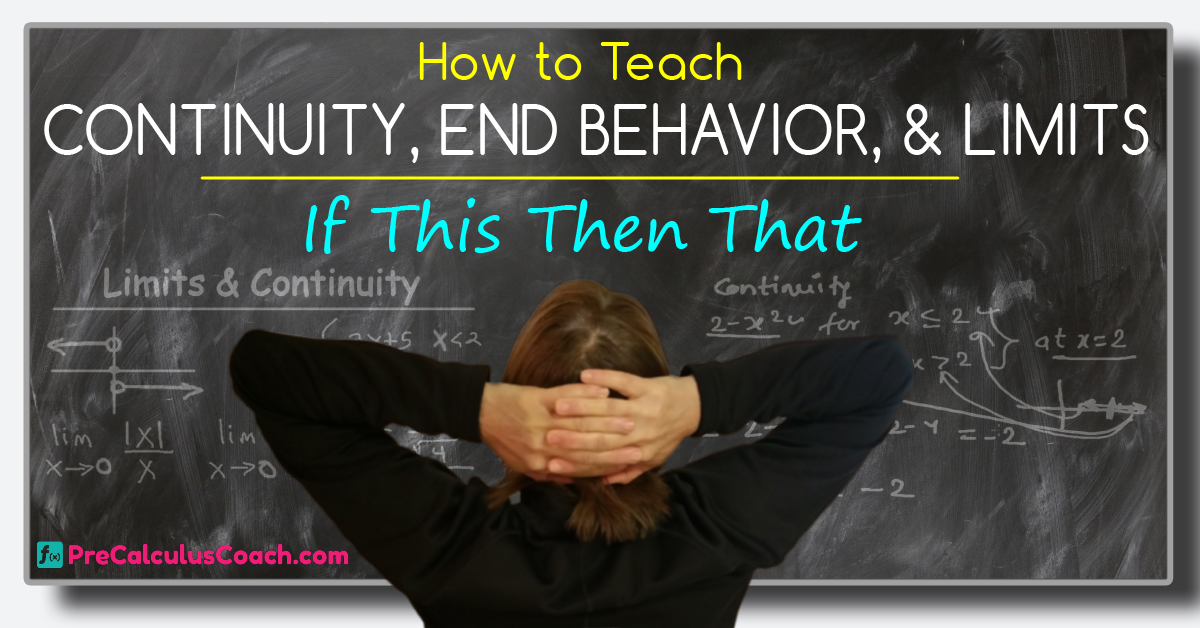Continuity End Behavior and Limits PreCalculusCoach – Limits and Continuity Worksheet
